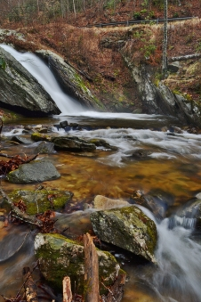 Big Creek Falls, North Carolina.