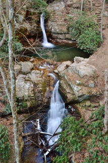 Blue Hole Falls 3 and 4, Carter County, TN.