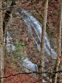 Crooked Arm Falls, Cades Cove, Great Smoky Mountains, TN