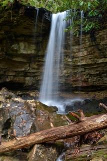 Kiner Creek Falls, Laurel Run Park, TN