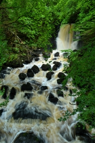 Aros Park Large Falls, Isle of Mull, UK