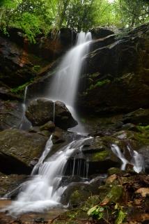 Millstone Creek Falls, Washington County, TN. Millstone Creek feeds into the Nolichuckey River.