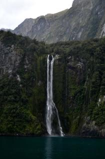 Stirling Falls, Fiordland National Park, New Zealand