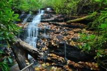Ethelred Falls, Panthertown, NC