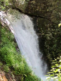 Courthouse Rock Falls, Pisgah National Forest, Transylvania County, NC