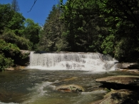 French Broad Falls, Living Waters Ministries, NC