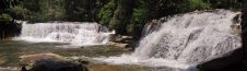 French Broad Falls and Shoal Creek Falls, Living Waters Ministry, NC