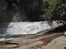 Bird Rock Falls aka Cathedral Falls, Living Waters Ministry, NC