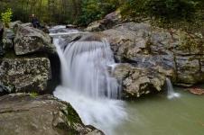 Laurel Creek, aka Trashcan Falls (upper)- Boone, NC