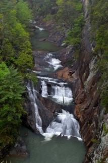 L'Eau d'Or Falls - Tallulah Gorge, GA