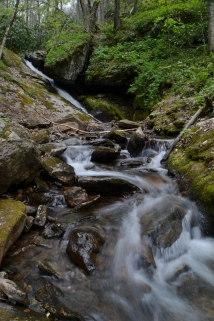 Little Andy Falls - Buncombe County, NC