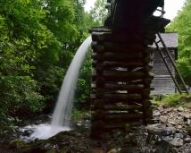 Mingus Mill (man made), Great Smoky Mountains National Park, North Carolina