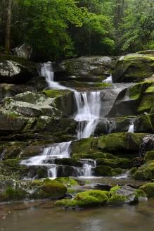Ramsey Creek, Washington County, TN (photo by Mark Lackey using my camera)