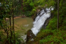 Tiger Creek Falls - private property, Tiger, NC