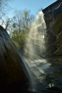 Jones Falls (closeup of upper), Pisgah National Forest, Carter County, TN