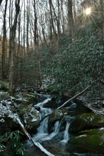 Squibb Creek Falls (lower), Horse Creek Recreation Area, Greene County, TN