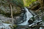 Squibb Creek Falls (upper), Horse Cove Recreation Area, Greene County, TN