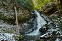 Squibb Creek Falls (upper), Horse Cove Recreation Area, Greene County, TN