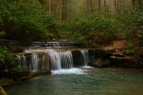Laurel Run, Laurel Run Park, Church Hill, TN (cascade)