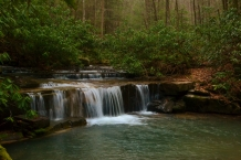 Laurel Run, Laurel Run Park, Church Hill, TN (cascade)