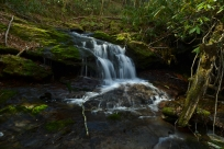 Cascade on Flint Creek, Rocky Fork State Park, Carter County, TN
