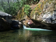 Blue Hole on Rocky Fork, Carter County, TN
