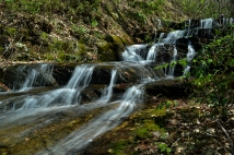 Waycaster Spring Falls, Carter County, TN