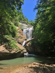 Russell Creek Falls (private), Wise County, VA