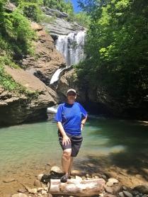 Me at Russell Creek Falls