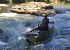 Richard in the rapids