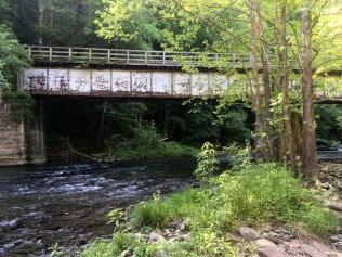Guest River Gorge Trail trestle