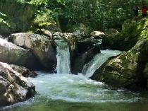 Laurel Creek, VA (cascade). Along the Virginia Creeper Trail