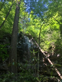 Lewis Falls, Washington County, VA (just off the Virginia Creeper Trail)