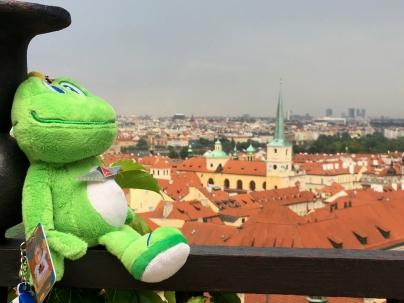 Signal enjoyed the views of Prague.