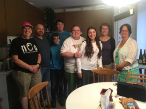 With our Brno firends, the Havirova family.