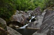 Steels Creek Falls - upper, NC