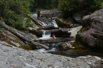 Tea Cups Falls on Steels Creek, NC