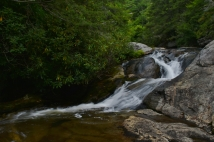 Upper Falls on Upper Creek, NC