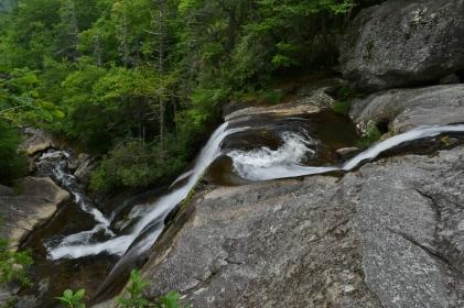 Lower Falls on Upper Creek, NC