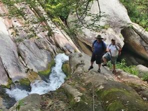 Rob and Richard at Steels Creek Falls