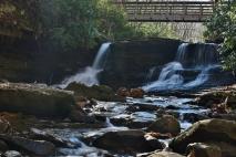 Small falls on Stony Creek