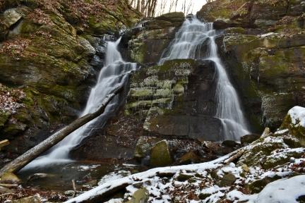Falls Hill Falls - lower, Washington County, VA