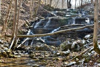Falls Hill Falls - upper, Washington County, VA
