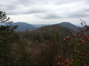 View toward Roan Mountain