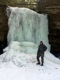 Me at Upper Little Stony Falls