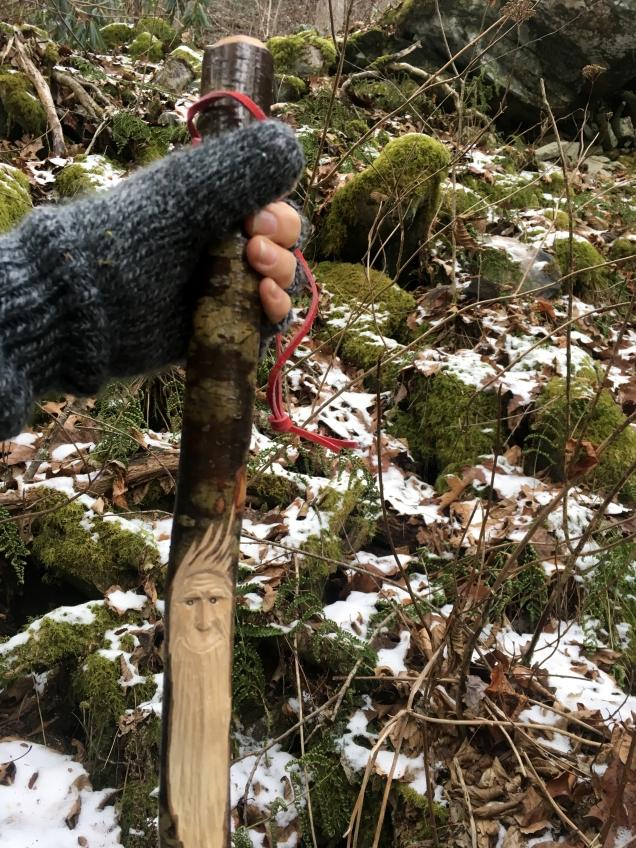 This week's hiking stick.