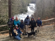 Our group at High Falls.