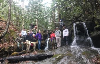 Group photo - courtesy of Rocky Fork State Park
