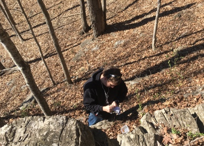 Steven logs a 5 terrain cache