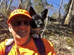 My hiking buddy.